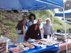 Romero Aid Station Crew